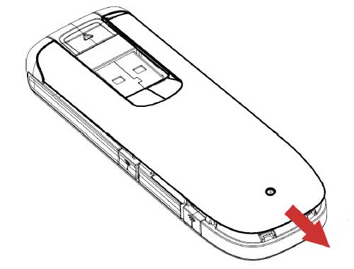 ZTE MF821 Insert SIM Guide